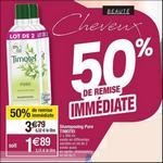 Bon Plan Shampooing ou Après-Shampooing Timotei chez Cora - anti-crise.fr