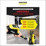 Offre de Remboursement Kärcher : Jusqu'à 30€ Remboursés sur Nettoyeur Haute Pression - anti-crise.fr