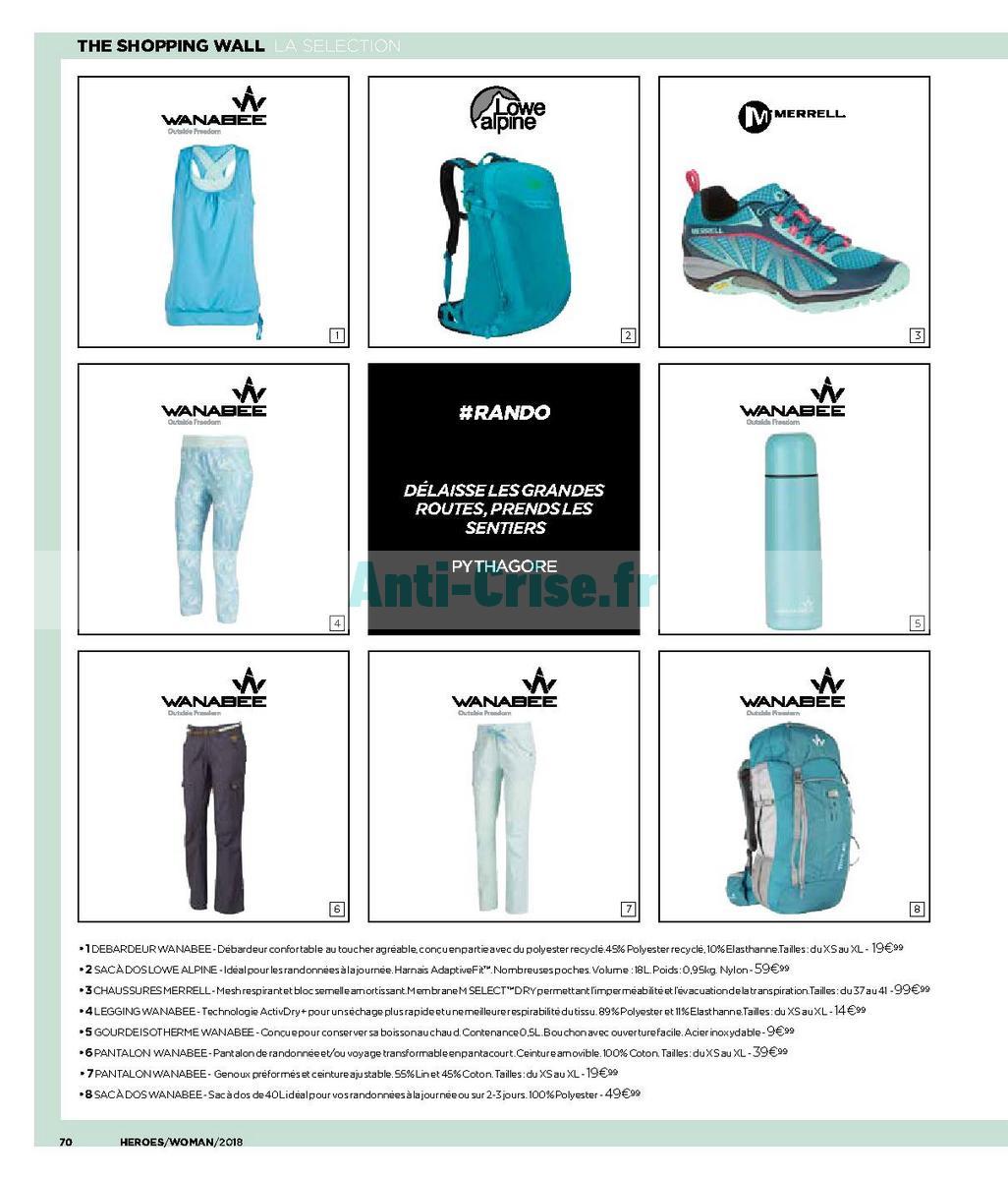 decembre2018 Catalogue Go Sport du 28 avril au 31 décembre 2018 (Spécial Femme) (70)