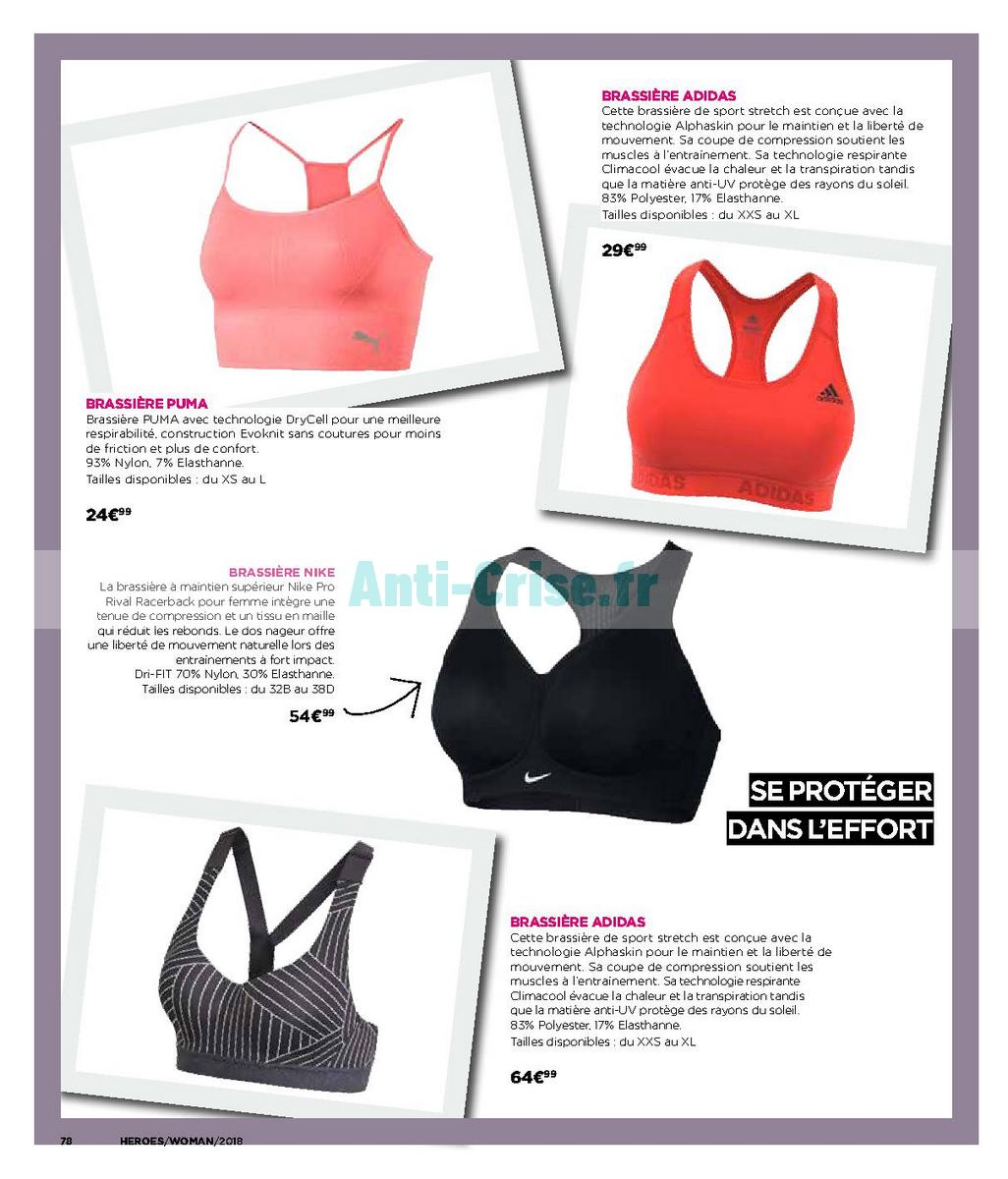 decembre2018 Catalogue Go Sport du 28 avril au 31 décembre 2018 (Spécial Femme) (78)