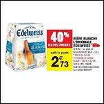 Bon Plan Bière Edelweiss chez Carrefour Market (10/04 - 22/04) - anti-crise.Fr
