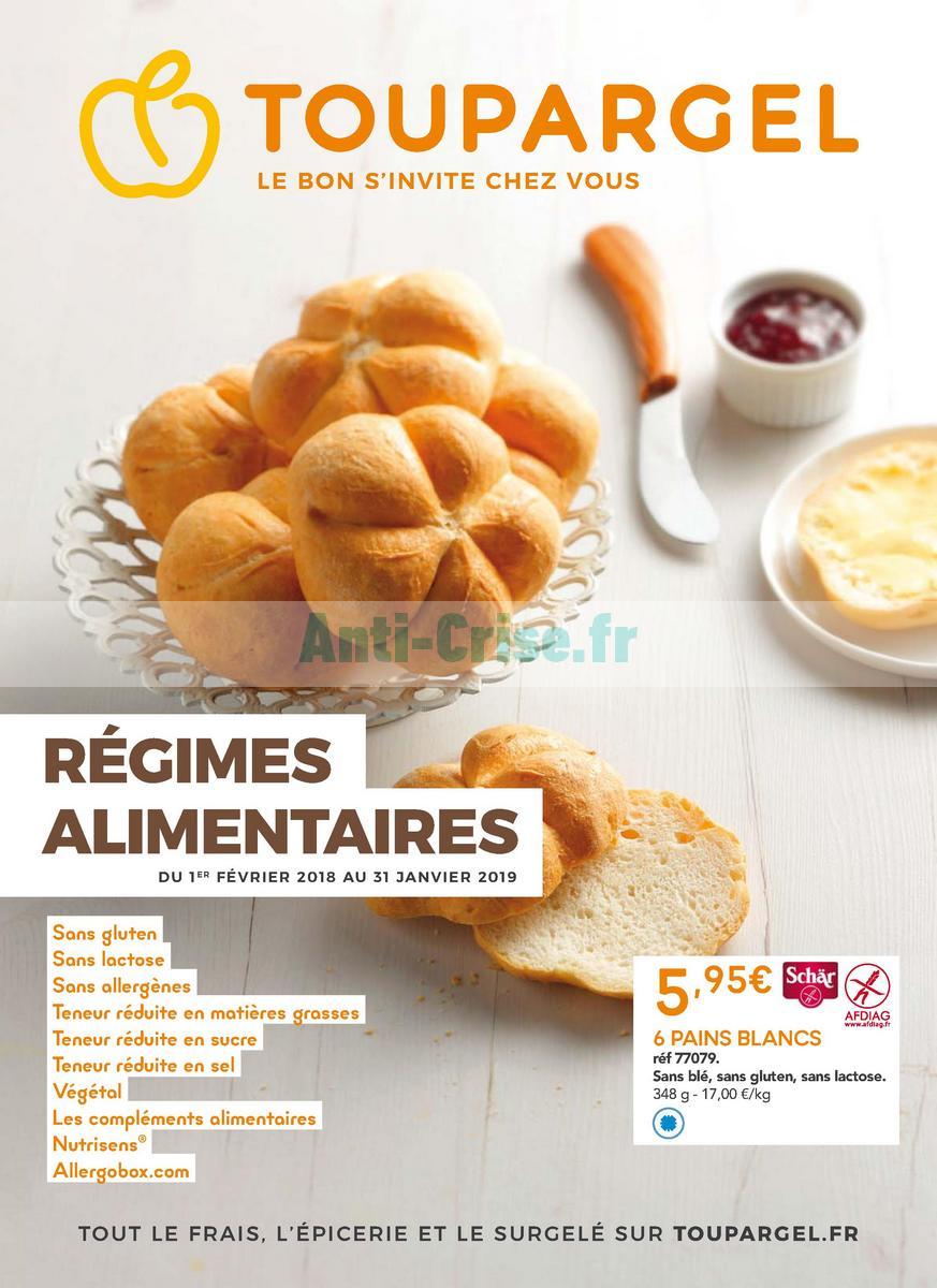 janvier2019 Catalogue Toupargel du 1er février 2018 au 31 janvier 2019 (Régimes) (1)