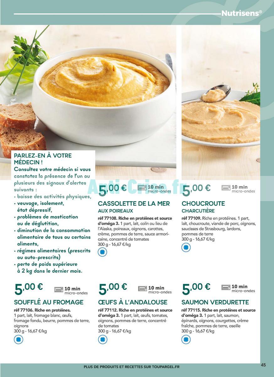 janvier2019 Catalogue Toupargel du 1er février 2018 au 31 janvier 2019 (Régimes) (45)