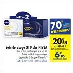 Bon Plan Soin Visage Q10 Plus Nivéa chez Carrefour (10/04 - 16/04) - anti-crise.fr