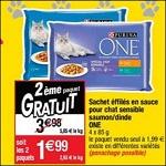 Bon Plan Sachets pour Chat Purina One chez Cora (10/04 - 16/04) - anti-crise.fr