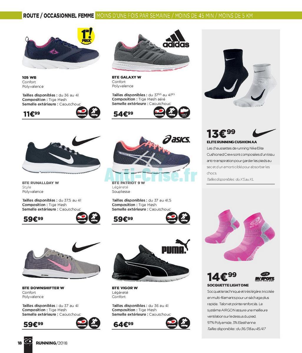septembre2018 Catalogue Go Sport du 28 avril au 21 septembre 2018 (Running) (18)