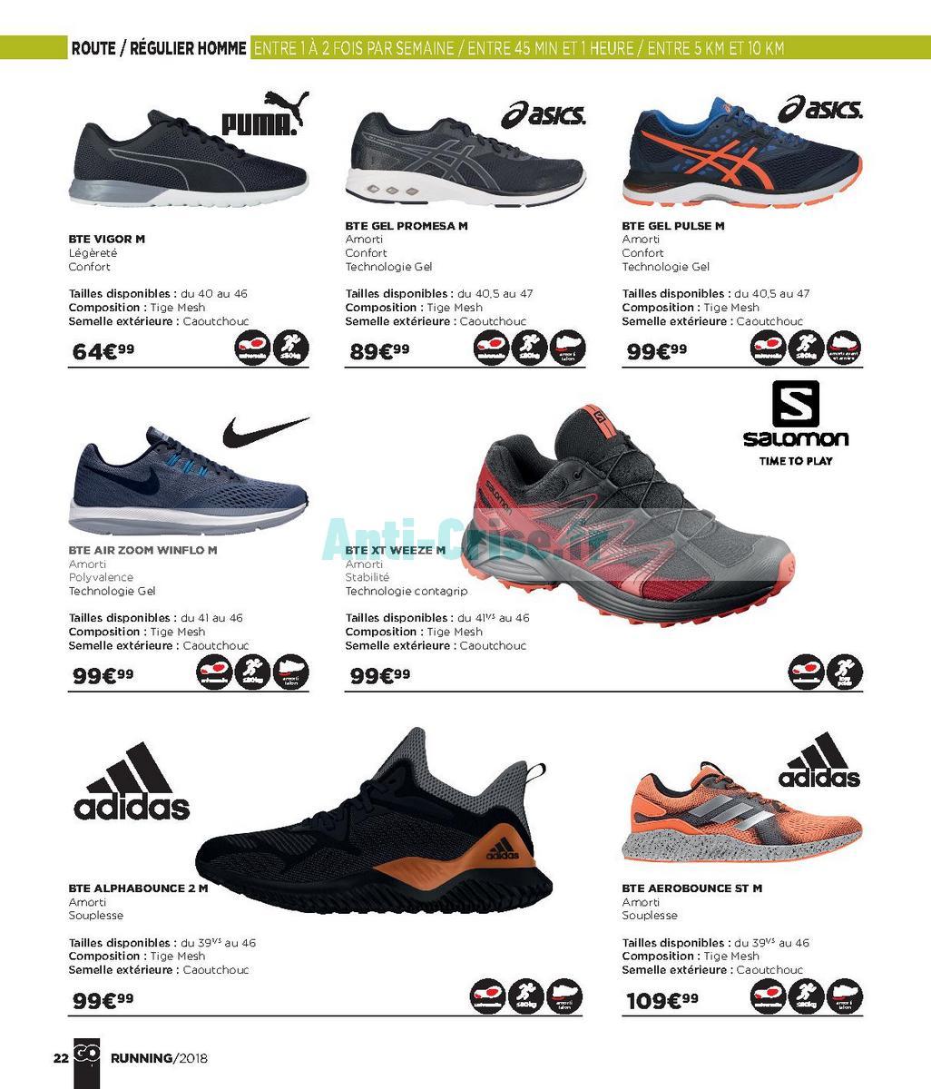 septembre2018 Catalogue Go Sport du 28 avril au 21 septembre 2018 (Running) (22)