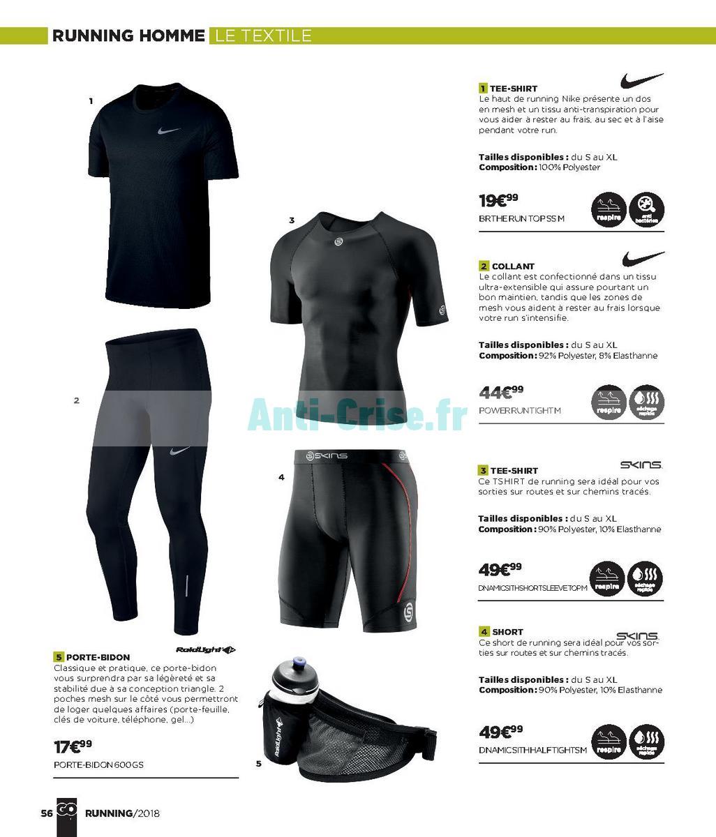 septembre2018 Catalogue Go Sport du 28 avril au 21 septembre 2018 (Running) (56)