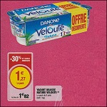 Bon Plan Yaourts Velouté de Danone chez Magasins U (24/04 - 28/04) - anti-crise.fr