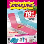 Catalogue Bazar Land du 6 au 24 juin 2018
