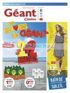 Géant Casino du 22 mai au 3 juin