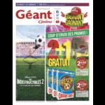 Catalogue Géant Casino du 5 au 17 juin 2018