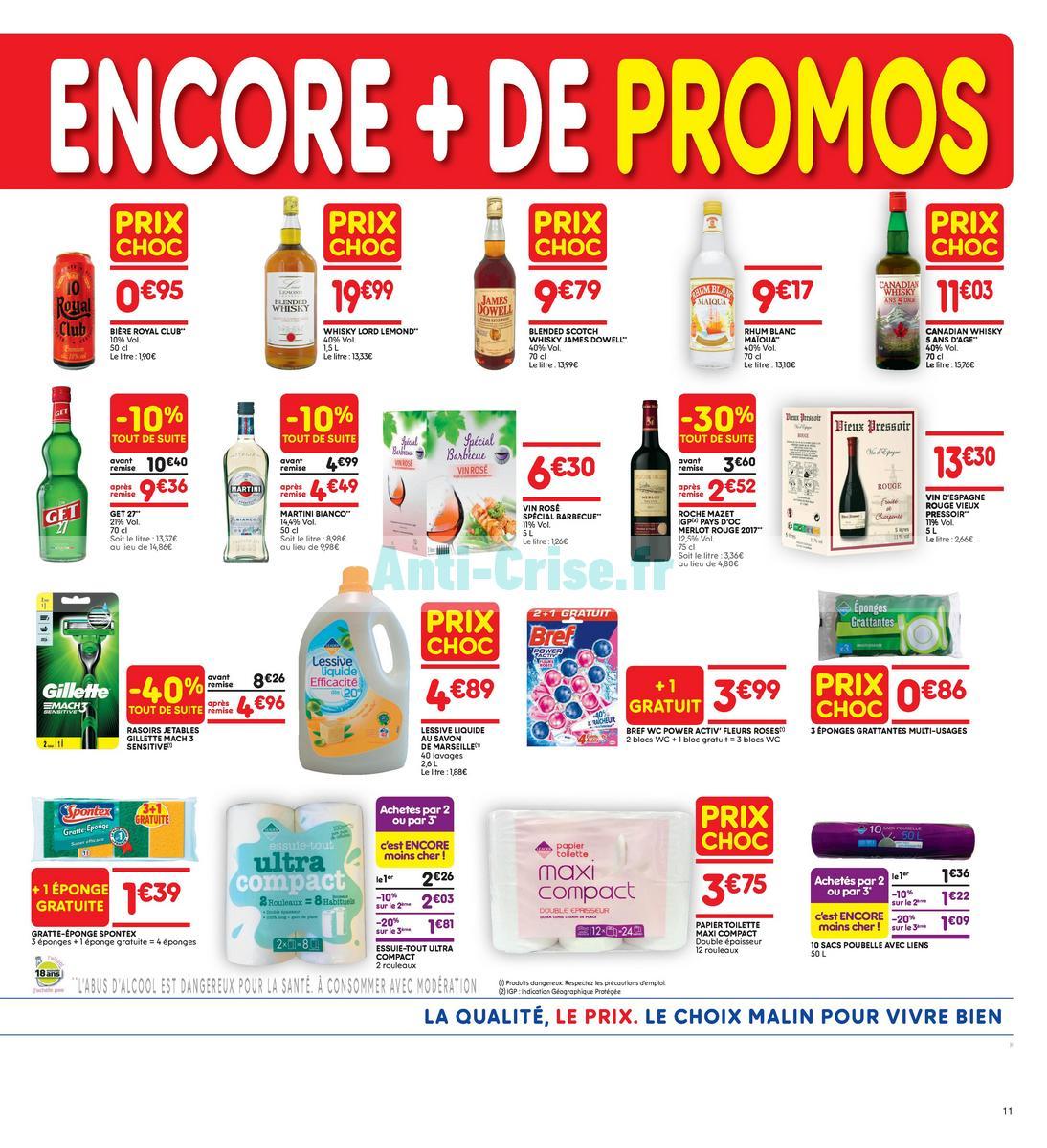Catalogue Leader Price du 22 mai au 3 juin 2018 (Le Mois 100% Remboursé Vague 2) (11)