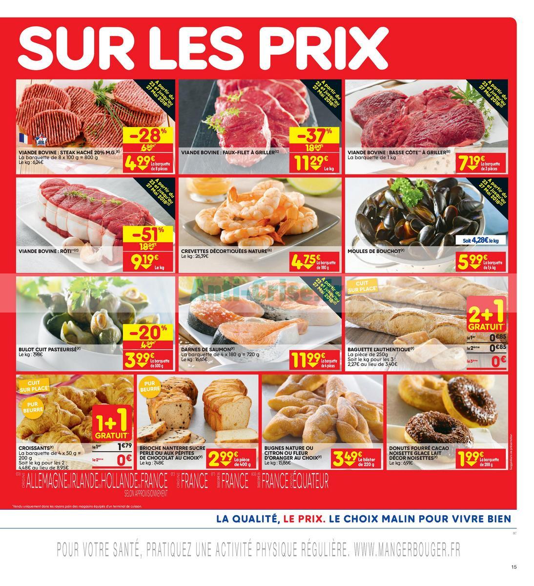 Catalogue Leader Price du 22 mai au 3 juin 2018 (Le Mois 100% Remboursé Vague 2) (15)