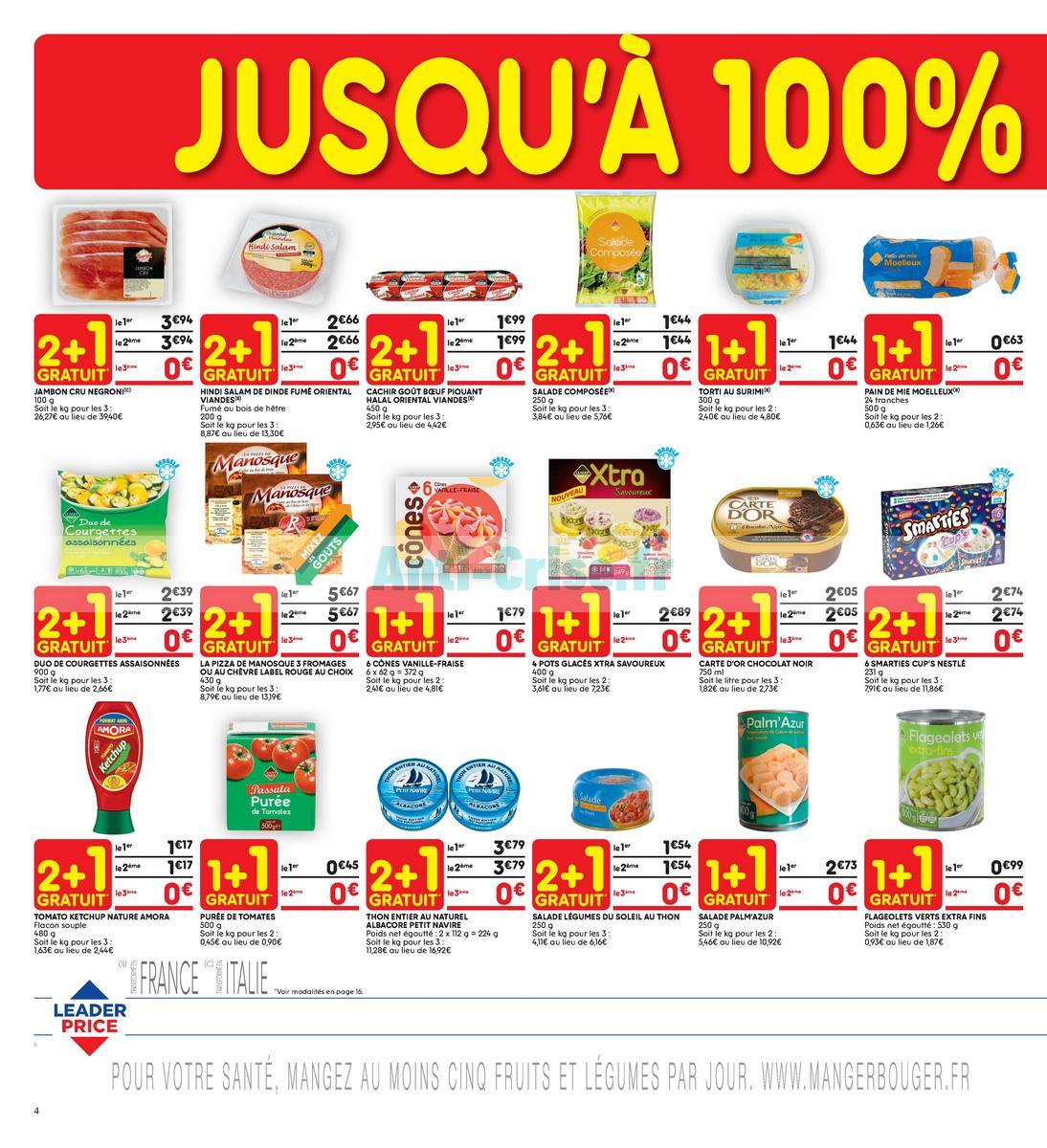 Catalogue Leader Price du 22 mai au 3 juin 2018 (Le Mois 100% Remboursé Vague 2) (4)