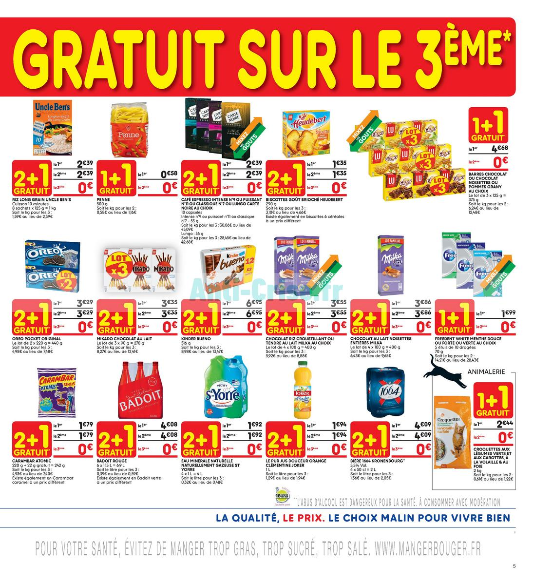 Catalogue Leader Price du 22 mai au 3 juin 2018 (Le Mois 100% Remboursé Vague 2) (5)