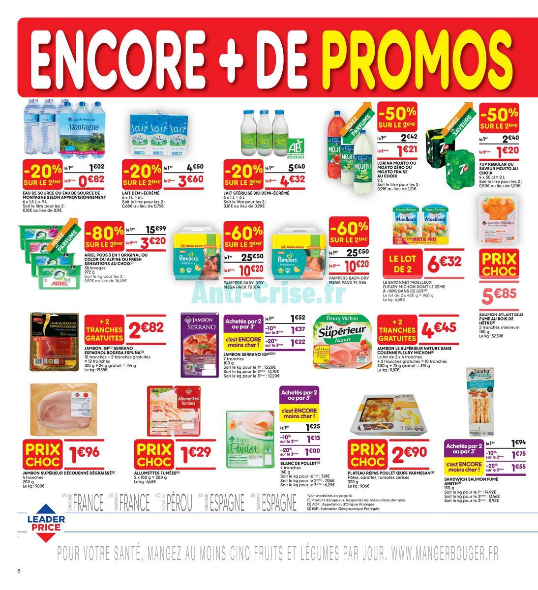 Catalogue Leader Price du 22 mai au 3 juin 2018 (Le Mois 100% Remboursé Vague 2) (8)