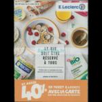 Catalogue Leclerc du 29 mai au 9 juin 2018