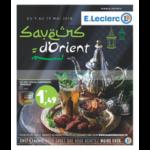 Catalogue Leclerc du 9 au 19 mai 2018 (Est - Ramadan)