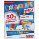Catalogue Simply Market du 16 au 27 mai 2018