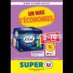 Catalogue Super U du 15 au 26 mai 2018