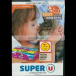 Catalogue Super U du 22 mai au 2 juin 2018 (Animaux)