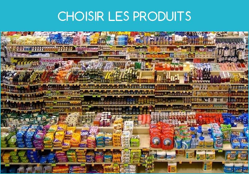 Choisir les produits