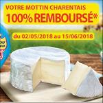 Offre de Remboursement Le Mottin Charentais 100% Remboursé en 2 Bons - anti-crise.fr