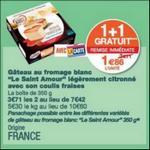 Bon Plan Gâteau au Fromage Saint Amour chez Monoprix - anti-crise.fr