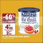 Bon Plan Lait Concentré Sucré chez Carrefour Market - anti-crise.fr