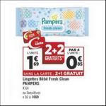 Bon Plan Lingettes Pampers chez Géant Casino - anti-crise.fr