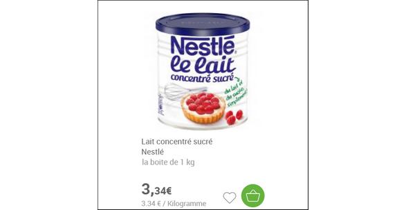 Bon Plan Lait Concentré Sucré partout - anti-crise.fr