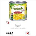 Bon Plan Maïs Bonduelle partout - anti-crise.fr