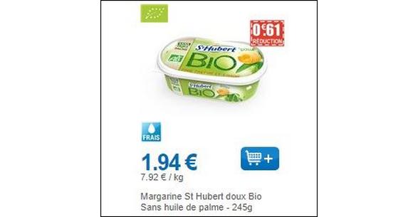 Bon Plan St Hubert Bio chez Leclerc - anti-crise.fr