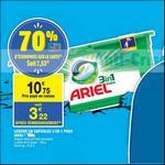Bon Plan Lessive Ariel Pods chez Carrefour Market - anti-crise.fr