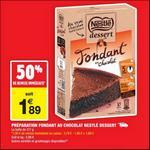 Bon Plan Préparation pour Gâteaux Nestlé Dessert chez Carrefour Market - anti-crise.fr