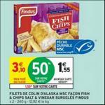 Bon Plan Fish & Chips Findus chez Intermarché - anti-crise.fr