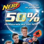 Offre de Remboursement Hasbro : 50% Remboursés sur Nerf - anti-crise.fr