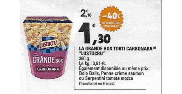 Bon Plan Box Lustucru chez Leclerc - anti-crise.fr
