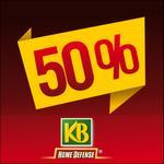 Offre de Remboursement KB : 50% Remboursés sur le 2ème produit - anti-crise.fr