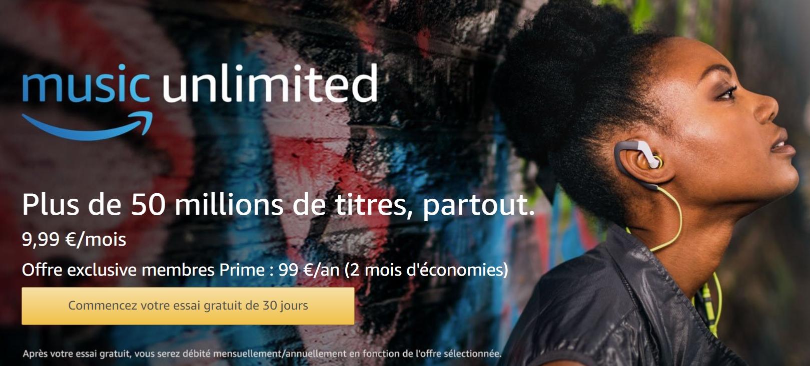 Gratuit : 3 mois de musiques illimitées avec Amazon Music