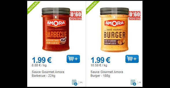 Bon Plan Sauce Amora Gourmet chez Leclerc (31/05) - anti-crise.fr