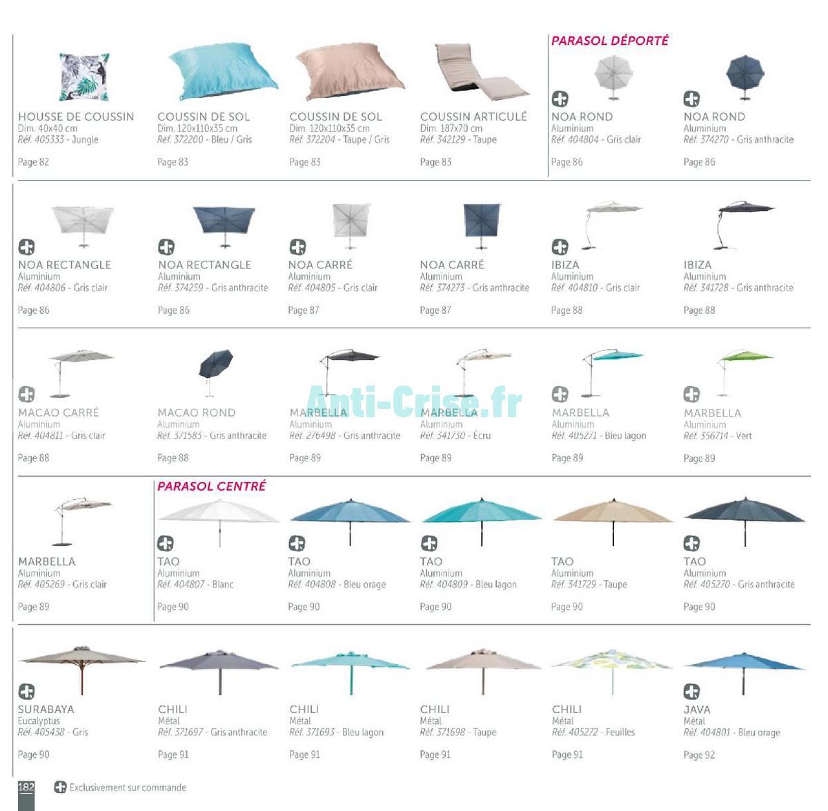 aout2018 Catalogue Gifi du 1er mai au 31 août 2018 (Plein Air) (182)