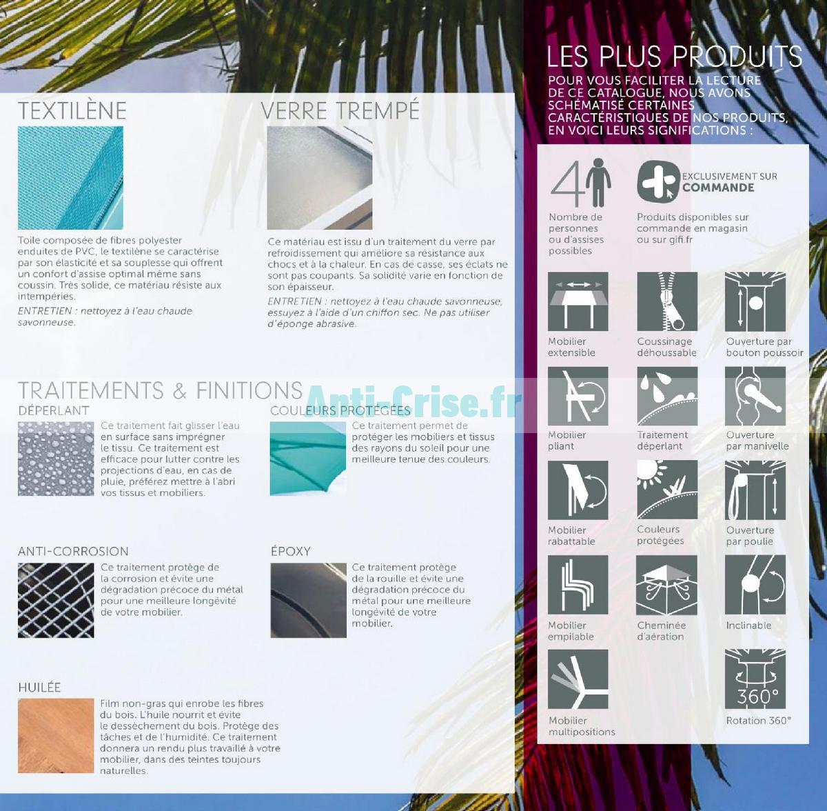 aout2018 Catalogue Gifi du 1er mai au 31 août 2018 (Plein Air) (7)