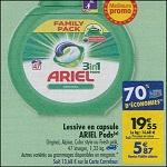 Bon Plan Lessive Ariel Pods chez Carrefour (08/05 - 14/05) - anti-crise.Fr