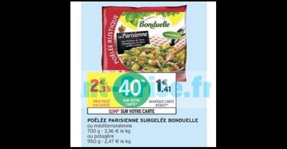 Bon Plan Poelee De Legumes Bonduelle Chez Intermarche 15 05