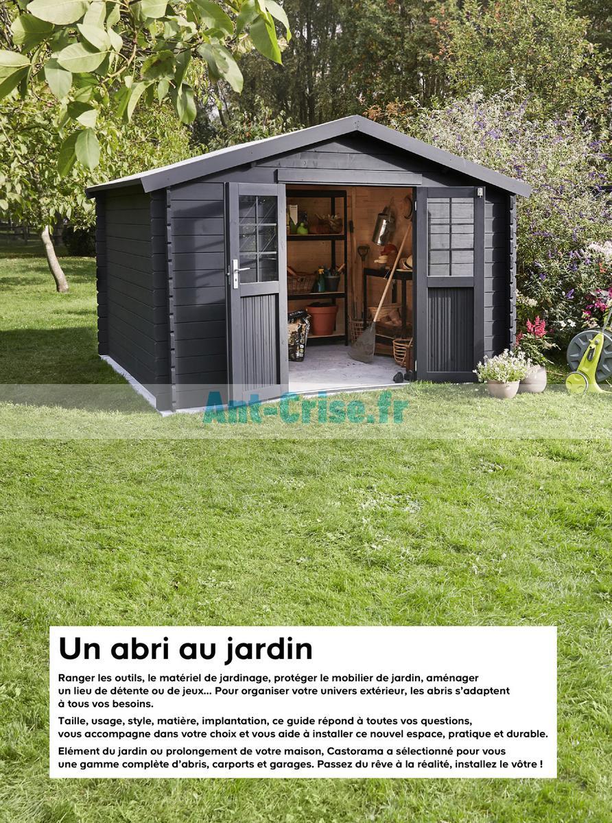 Abri Voiture Castorama : abris castorama beautiful abris de jardin promotion code ~ Nature-et-papiers.com Idées de Décoration