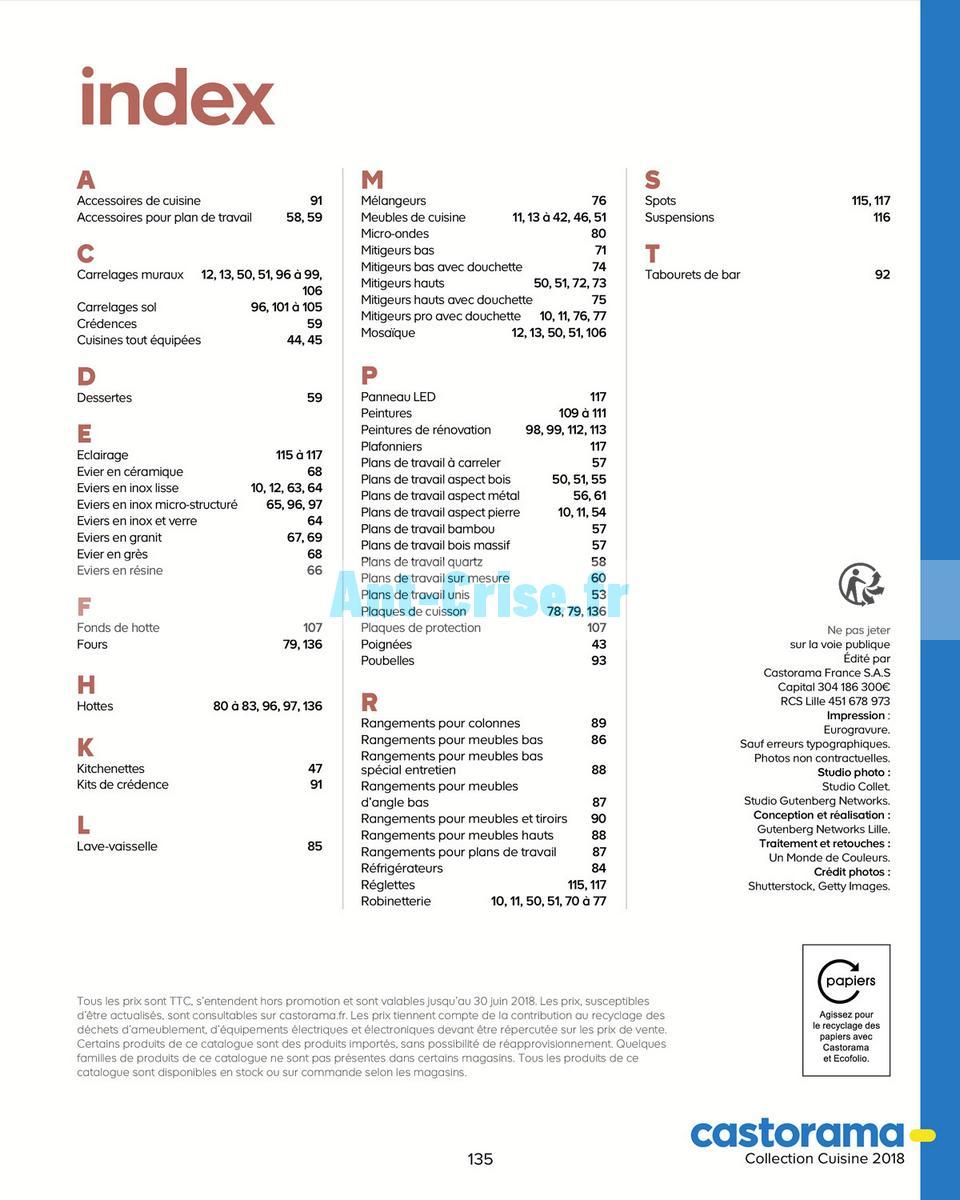 decembre2018 Catalogue Castorama du 15 mai au 31 décembre 2018 (Cuisine) (135)