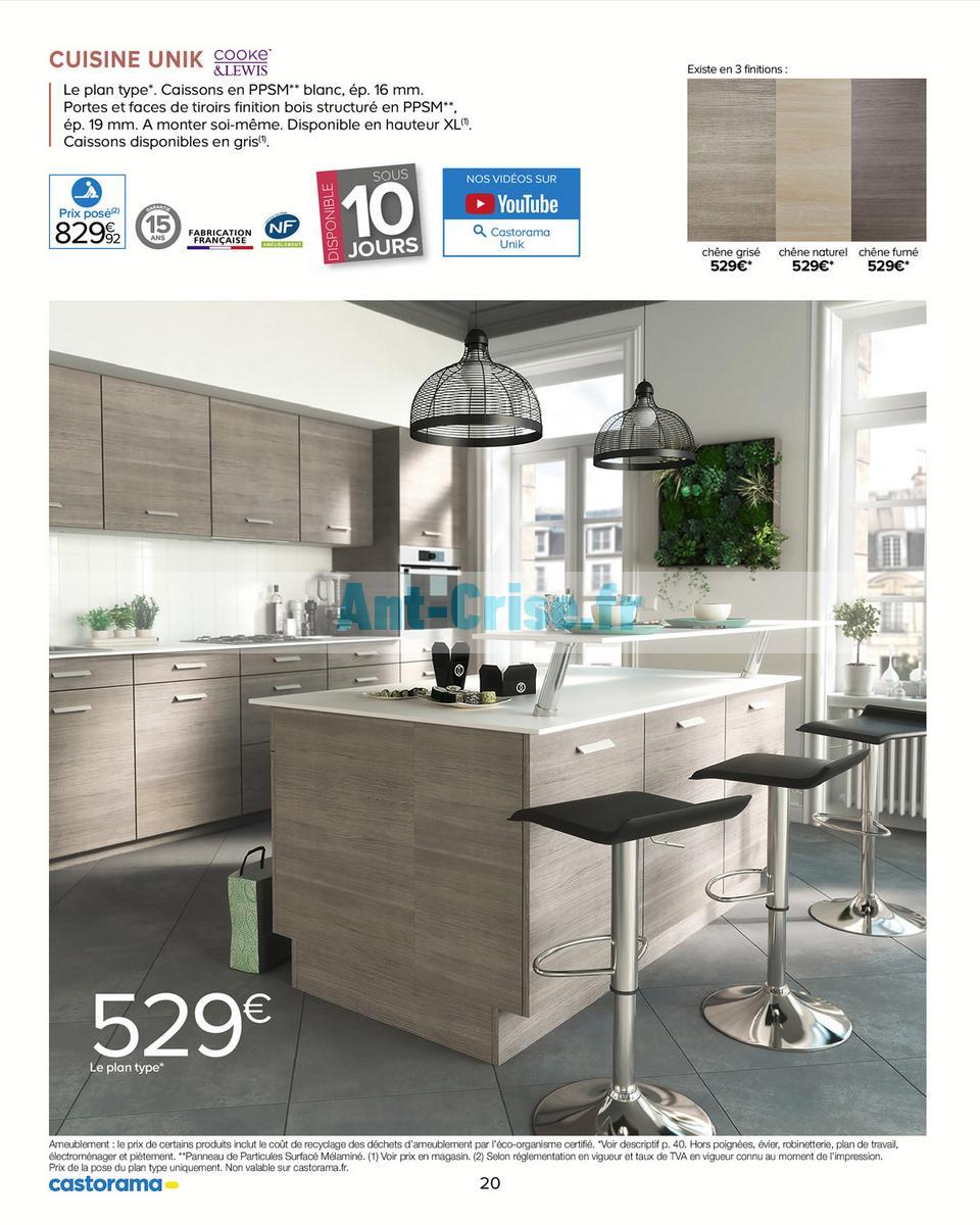 Catalogue Castorama Du 15 Mai Au 31 Décembre 2018 Cuisine