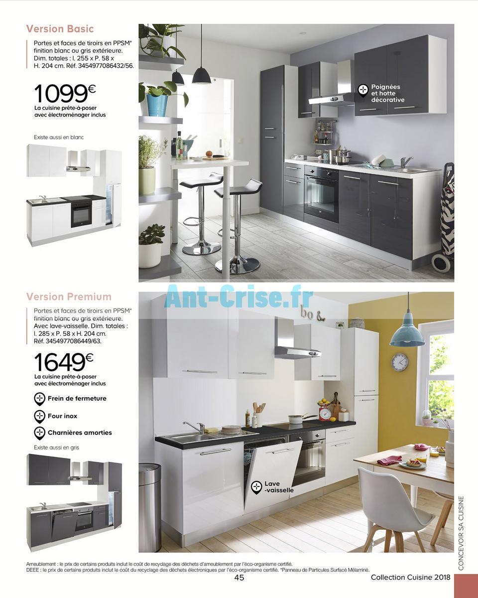 finest decembre catalogue castorama du mai au dcembre cuisine with panneau mlamin castorama. Black Bedroom Furniture Sets. Home Design Ideas